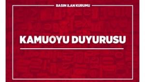 Adana DSİ 6. Bölge Müdürlüğü'ne ait taşınmazlar ihale usulü satılacak