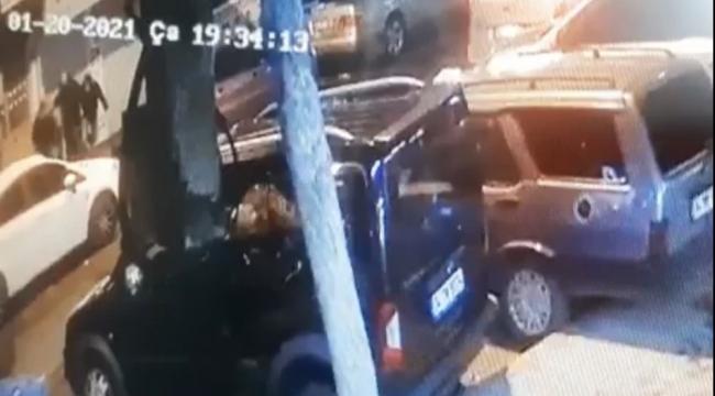 Şehir merkezinde silahlı saldırı