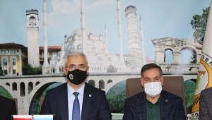 AK Parti Adana Milletvekili Zenbilci OBM'yi ziyaret etti