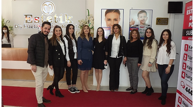 Akdeniz Diş Estetiğinin 4.şubesi açıldı