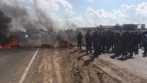 Çiftçiler'den DEDAŞ'ı protesto