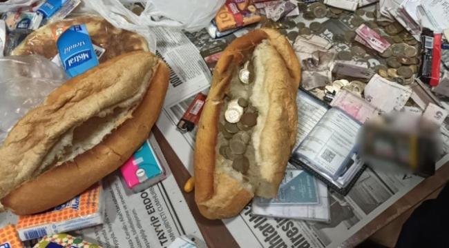 Ekmek arasından para çıktı