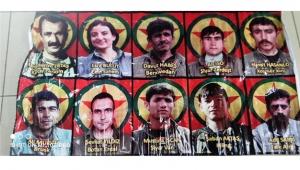 Belediye binasında Öcalan fotoğrafları çıktı