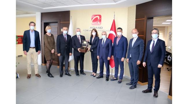 BÜYÜKELÇİ KWAASTENİET'TEN ADASO'YA ZİYARET 'Hollanda ile işbirliği ve yatırım geliştirilmeli'