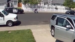 California'da polis Otizmli çocuğu yumrukladı