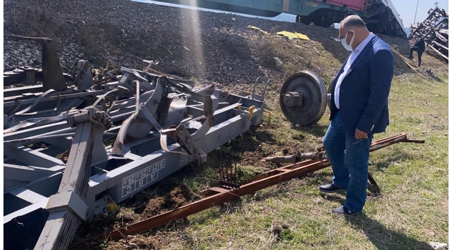 Çay: Pozantı'daki kaza arızalanan tren iteklenirken meydana geldi