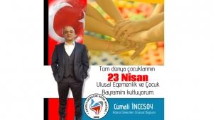 İncesoy: Çocuklarımızın, Atatürk'ün izinde yetişmesi en büyük dileğimizdir