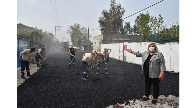 Küçükmangıt asfalta kavuştu