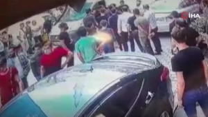 Suriyeli iki aile birbirine saldırdı
