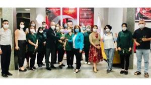 TKKD'den Huzurevi çalışanlarına toplum adına teşekkür ziyareti