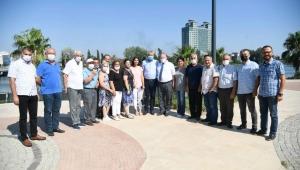 Adana Büyükşehir Belediye Başkanı Karalar Çukurova Gazeteciler Cemiyeti'ni ziyaret etti