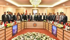 Akşener, 30 büyükşehir il başkanı ile görüştü