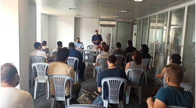 Adana Tabip Odası aşı için gençlerle buluştu