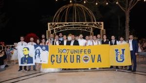 Fenerbahçe tezahüratlarıyla düğün