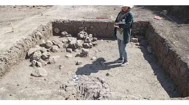 Orta Çağ Dönemi'ne ait çocuk iskeleti bulundu