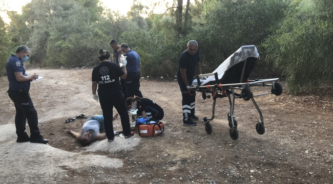 Piknik alanında yaralı bulundu