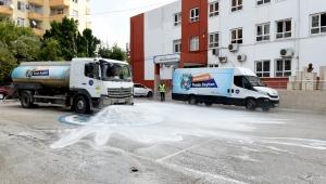 Seyhan Belediyesi okulları temizliyor