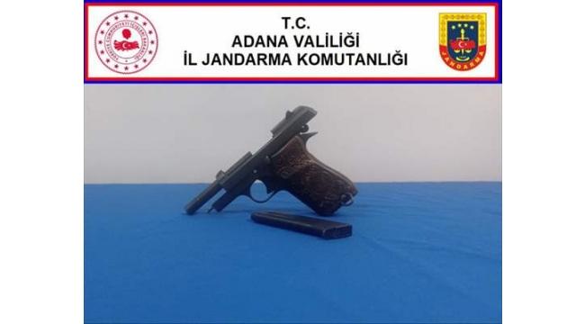 Ruhsatsız silah taşıyan kişi yakalandı