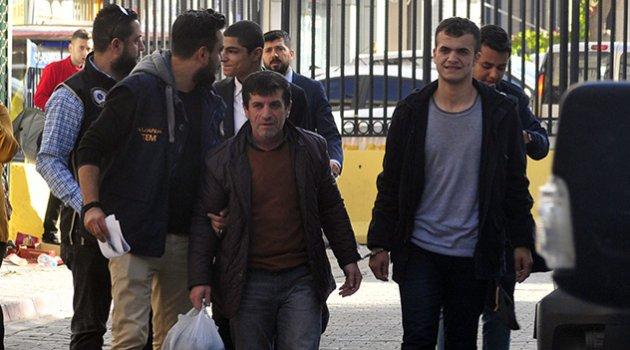 3 PKK zanlısı adliyeye sevkedildi