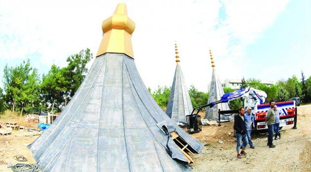 57. Alay Şehitleri Camii'nde sona yaklaşılıyor