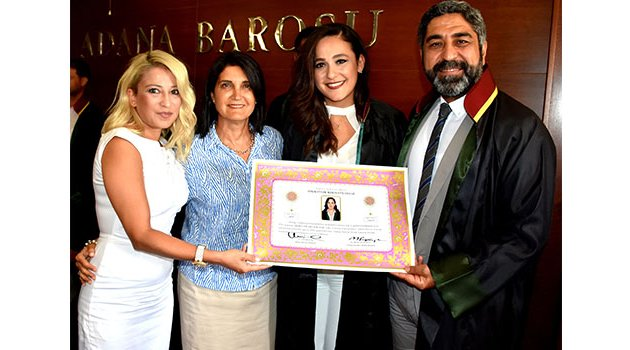 Adana Barosu'na 2 yeni avukat daha katıldı