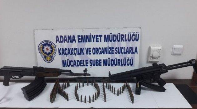 Adana'da Mp5 ve Kaleşnikof İle Yakalanan Gözaltına Alındı