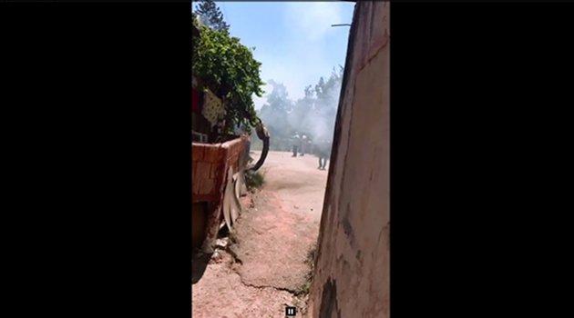 Adana'da yıkım dehşeti