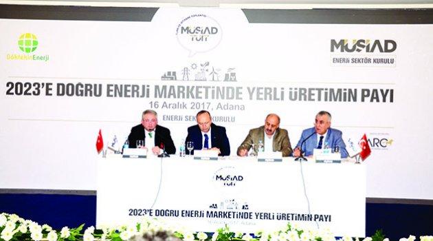 Adana enerji sektörüyle yükselecek