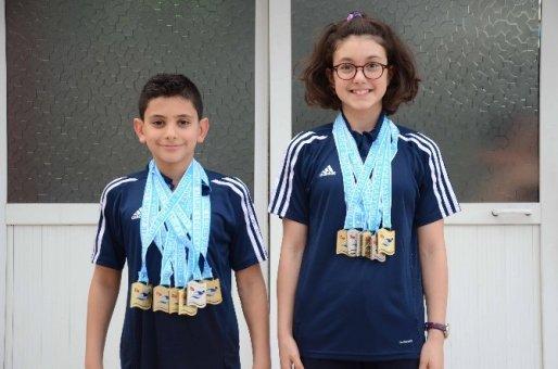 Adana THOM Yüzme Karması 12 Madalya İle Döndü