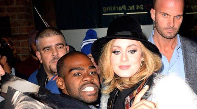 Adele'in koruması fenomen oldu