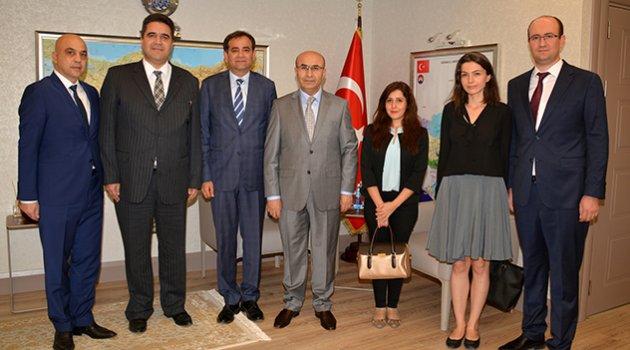 ADEO yönetimi Vali Demirtaş'ı ziyaret etti