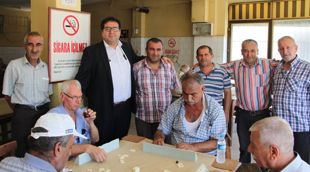 AK Parti'li  Huylu'ya esnaftan tam destek