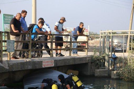 Aracını İşyerinin Önünde Bıraktı, Sabah Aracını Sulama Kanalından Aldı