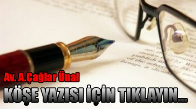 "Av.Ali Çağlar ÜNAL yazdı ""UYUMA"""