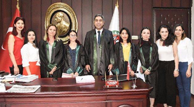 Baroda avukatlık ruhsatı heyecanı