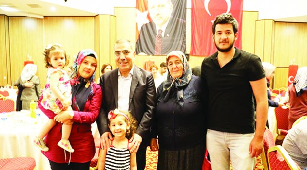 Başkan Çelikcan şehit aileleri ile iftarda buluştu