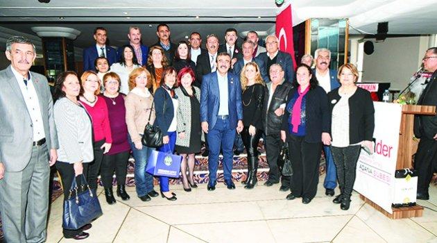 Başkan Çetin: 27 muhtarımızın 27'si de bizimle
