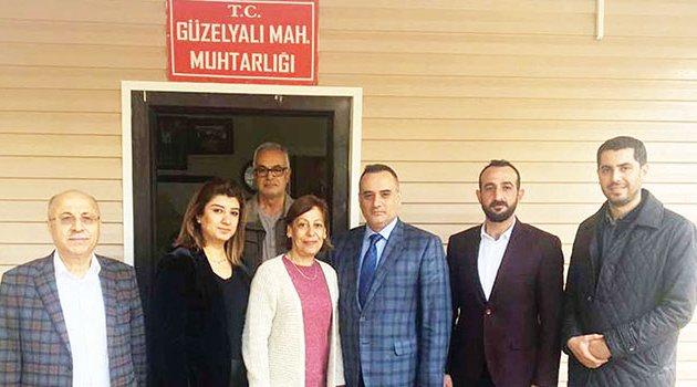 Başkan Çetin'den muhtarlara ziyaret