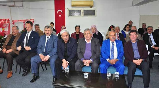 Başkan Perçin'e tam destek