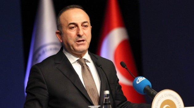 Çavuşoğlu: 'YPG'yi Rakka'ya götürmek çok yanlış bir adım olur'