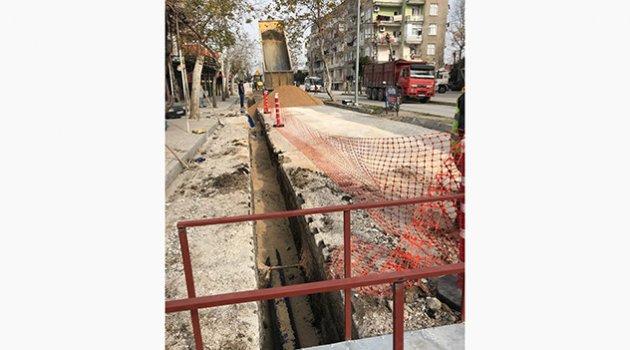 Ceyhan'da içme suyu hattı yenileniyor