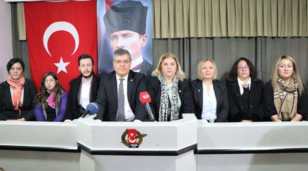 CHP'li kadınlardan sert tepki