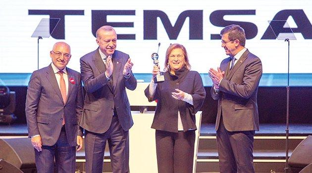 Cumhurbaşkanı Erdoğan'dan Sabancı ailesine büyük övgü