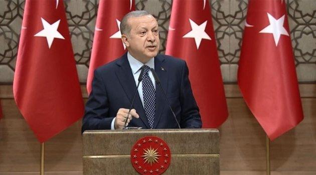 Cumhurbaşkanı Erdoğan resti çekti!