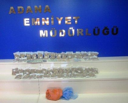 Çuvalda 92 bin uyuşturucu hap yakalandı
