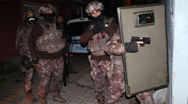 DEAŞ operasyonunda 12 Suriyeli gözaltına alındı