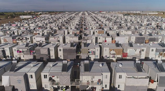 En büyük konteyner kenti Adana'da