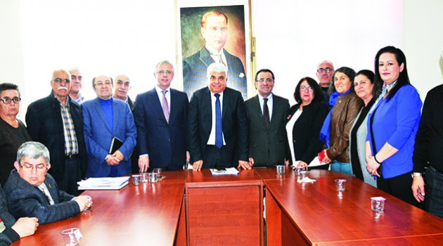 Erbek CHP Yüreğir'i ziyaret etti
