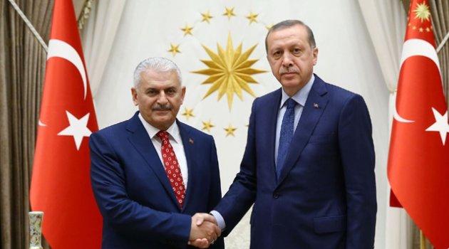 Erdoğan Yıldırım'la görüştü