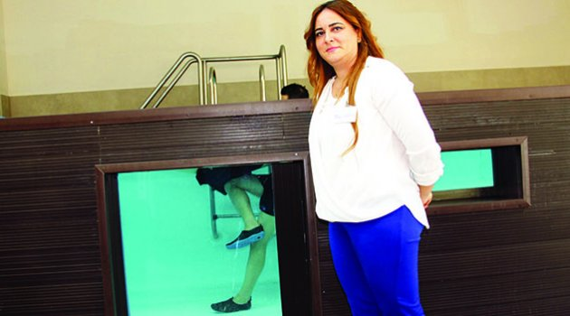 Felçli hastalara hidroterapi ile tedavi